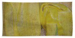 Yellow Strands Bath Towel