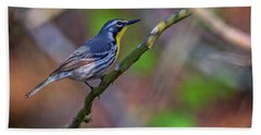 Yellow-throated Warbler Hand Towel