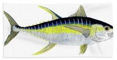Yellowfin Tuna Bath Towel