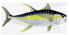 Yellowfin Tuna Bath Towel