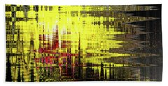 Yellowpop Revisited Hand Towel