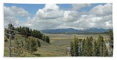Yellowstone Caldera Hand Towel