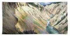 Yellowstone Canyon Hand Towel