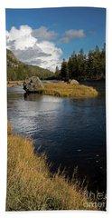 Yellowstone Nat'l Park Madison River Bath Towel