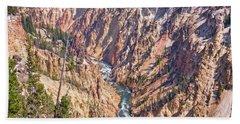 Yellowstone River Hand Towel