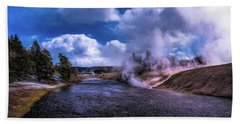 Yellowstone River Bath Towel
