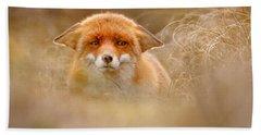Yoda - Funny Fox Face Bath Towel