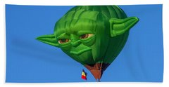 Yoda Hot Air Balloon Hand Towel