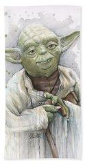 Yoda Bath Towel
