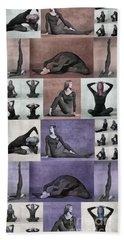 Yoga Poses II Hand Towel
