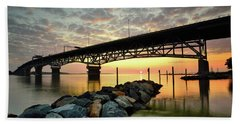 York River Sunrise Bath Towel