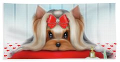 Yorkie Beauty Bath Towel