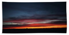 Hand Towel featuring the photograph Yorkton Sunrise by Ryan Crouse