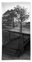 Yorktown - Battlefield Foot Bridge Bath Towel