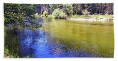 Yosemite River Hand Towel