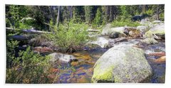 Yosemite Hidden Stream Hand Towel