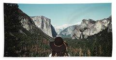 Yosemite Awe Bath Towel
