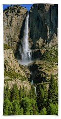 Yosemite Falls Bath Towel