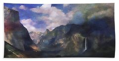 Yosemite H2o Color Hand Towel