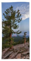 Half Dome From May Lake Hand Towel