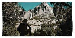 Yosemite Hiker Bath Towel