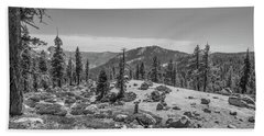 Yosemite Landscape Bath Towel
