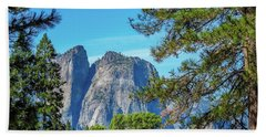 Yosemite Morning Bath Towel