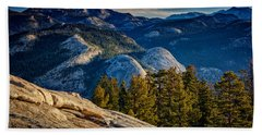 Yosemite Morning Hand Towel by Rick Berk
