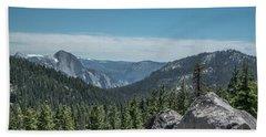 Yosemite National Park - California  Hand Towel by Henri Irizarri