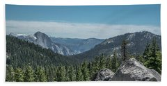 Yosemite National Park - California  Bath Towel