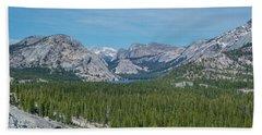 Yosemite National Park Hand Towel by Henri Irizarri