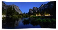 Yosemite Nights Bath Towel