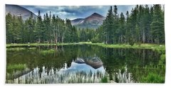 Yosemite Reflection Bath Towel