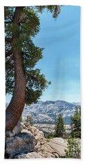 Yosemite Tree Hand Towel by Sharon Seaward