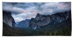 Yosemite Valley  Hand Towel