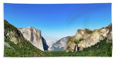 Yosemite Valley- Bath Towel