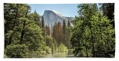 One Valley View Hand Towel by Ryan Weddle