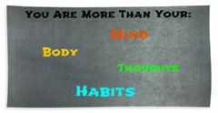 You Are More #3 Hand Towel