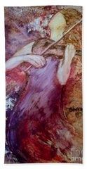 Bath Towel featuring the painting You Are My Hallelujah by Deborah Nell
