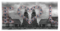 You Are My Lighthouse Hand Towel