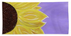 You Are My Sunshine Bath Sheet by Cyrionna The Cyerial Artist