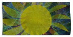 You Are My Sunshine Hand Towel by Kathleen Sartoris