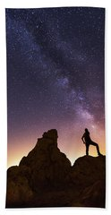 You Cant Take The Sky From Me Hand Towel by Tassanee Angiolillo