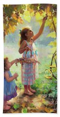 You Will Bear Much Fruit Hand Towel
