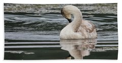 Young Reflection  Bath Towel