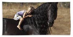 Young Rider Bath Towel
