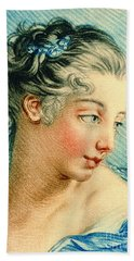 Young Woman 1760 Bath Towel by Padre Art