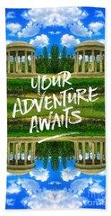 Your Adventure Awaits Temple Of Love Versailles Paris Hand Towel