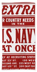 Your Country Needs You In The Us Navy Hand Towel