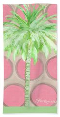 Your Highness Palm Tree Bath Towel by Kristen Abrahamson